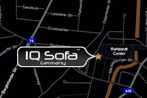 IQ-Sofa Location Map - Germany